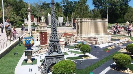 Mini USA: pontos turísticos em miniatura