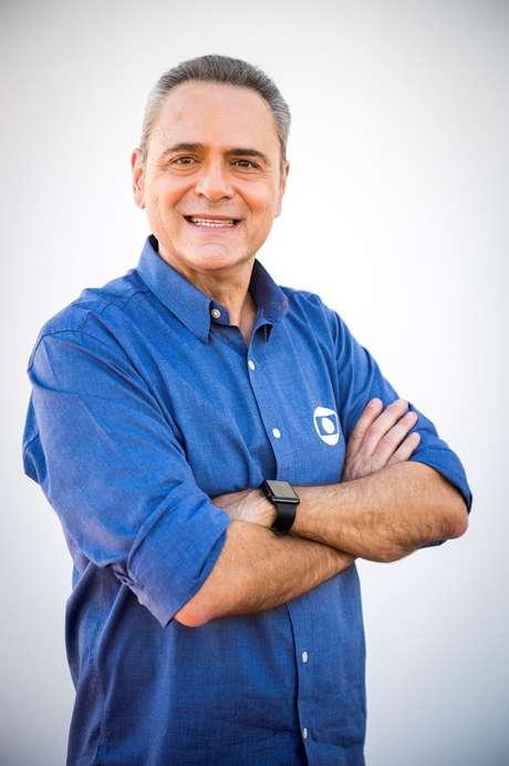 Luis Roberto, narrador da TV Globo