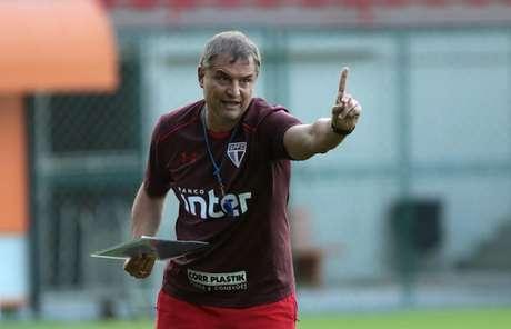 Diego Aguirre promoveu o rodízio no São Paulo e está conquistando bons resultados (Rubens Chiri/saopaulofc.net)