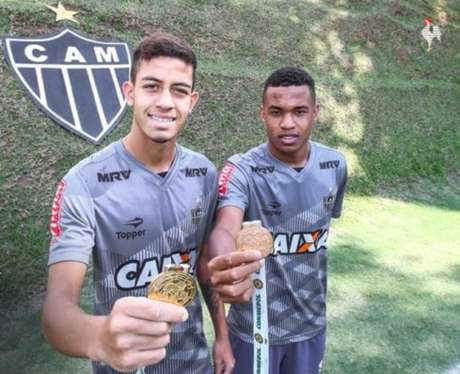 Alerrandro e Matheus Stockl estão na lista do técnico Carlos Amadeu (Foto: Divulgação / Atlético-MG)