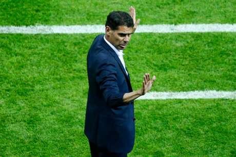 Hierro conquistou sua primeira vitória pela seleção espanhola (Foto: AFP)