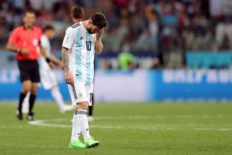 Messi em Argentina x Croácia