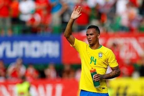 Danilo após amistoso da seleção brasileira contra a Áustria 10/06/2018 REUTERS/Leonhard Foeger