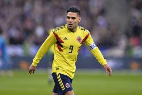 Esperança de gols pela Colômbia, Falcao García mantém expectativa por duelo com aspecto de final contra a Polônia (Divulgação)