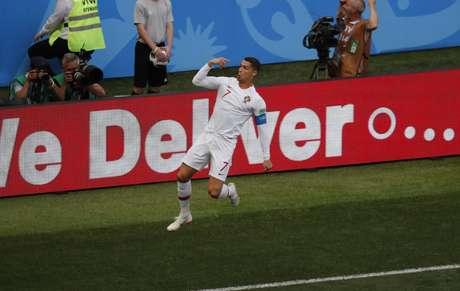Cristiano Ronaldo está a dois gols de se igualar ao maior artilheiro de Portugal em Copas do Mundo (Divulgação)