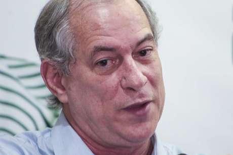 Pré-candidato à presidência da República pelo PDT Ciro Gomes