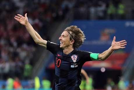 Modric é o craque da Croácia nesta Copa do Mundo