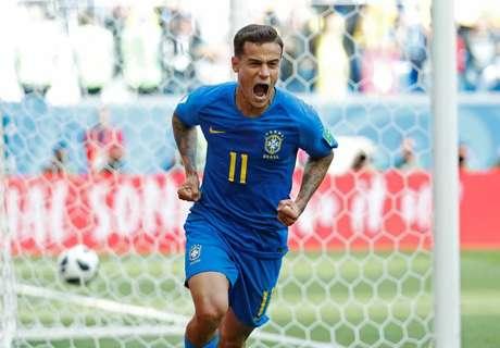 Philippe Coutinho tem sido o jogador ofensivo do Brasil com maior destaque e deve seguir dando assistência e marcando gols na fase mata-mata da Copa do Mundo