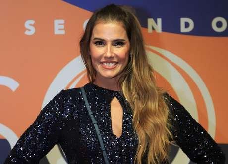 Deborah Secco em evento de promoção da novela Segundo Sol