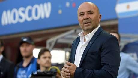 Sampaoli não deve seguir na seleção argentina após a Copa do Mundo (Foto: AFP/JUAN MABROMATA)