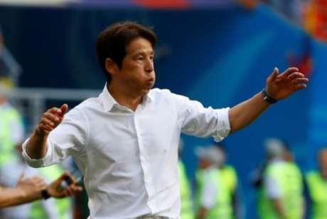 Técnico do Japão aposta em jogo coletivo para manter bom rendimento da estreia da seleção japonesa (Foto: AFP)