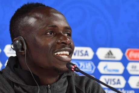 Sadio Mané é considerado o principal jogador da seleção senegalesa nesta edição da Copa do Mundo (Foto: HECTOR RETAMAL/AFP)