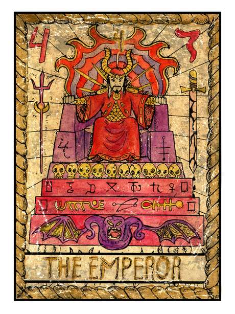 No tarot carta do Imperador rege o período