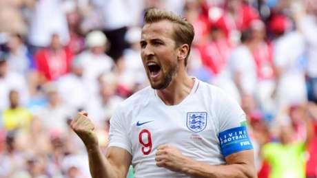 Kane é o artilheiro da Copa do Mundo, com cinco gols (Foto: AFP/MARTIN BERNETTI)