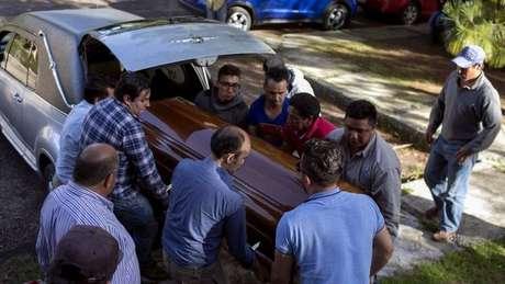 O empresário Ángeles Juárez era candidato a prefeito de Ocampo e foi o terceiro político assassinado na cidade em 8 dias