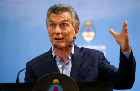 Macri, durante entrevista em Buenos Aires, Argentina  16/5/2018 REUTERS/Agustin Marcarian