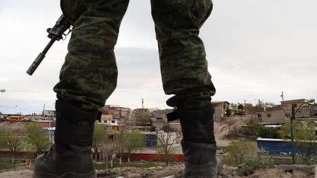 A guerra contra o narcotráfico no México começou em 2006 e desde então mais de 200 mil pessoas morreram