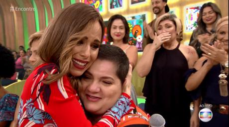 Ana Furtado se emociona no 'Encontro' ao falar do câncer