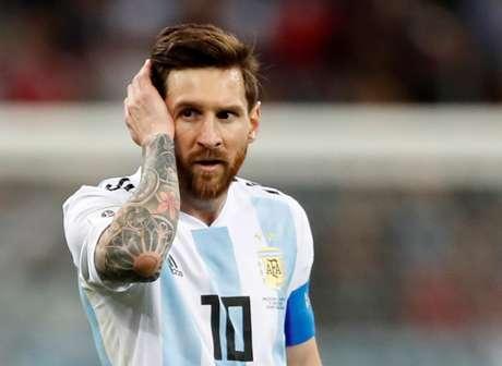 Messi continua sendo uma das esperanças da Argentina na Copa
