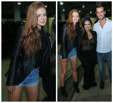 Marina, Simone e Xande Negrtão (Foto: Daniel Pinheiro/AgNews)