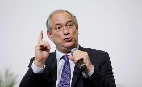 O pré-candidato ao Planalto pelo PDT, Ciro Gomes