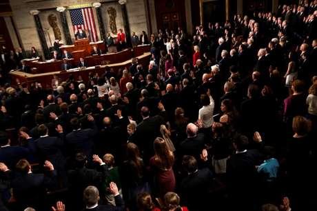 Plenário da Câmara dos Deputados dos EUA 03/01/2017  U.S. January 3, 2017. REUTERS/Jonathan Ernst - RC1D6F1EEE00
