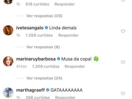 Bruna Marquezine foi elogiada ao postar foto de lingerie antes de jogo do Brasil nesta quarta-feira, dia 27 de junho de 2018