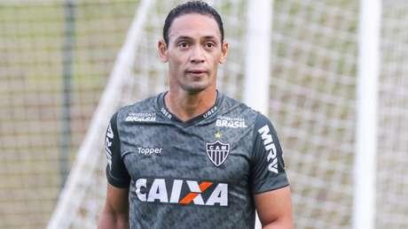 Ricardo Oliveira é poupado de treino no Atlético-MG (Foto: Bruno Cantini/Atlético)