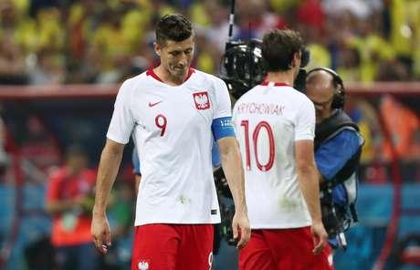 Polônia perdeu os dois primeiros jogos e já está eliminada