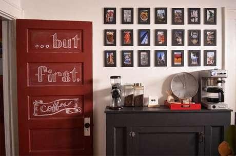 4- Cantinho do café para quem gosta de preparar a sua própria bebida.