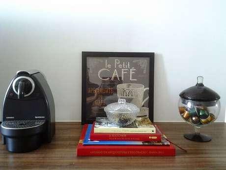 36 – Cantinho de café simples.