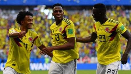 Mina tem sido um dos destaques da Colômbia no Mundial