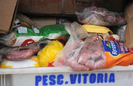 Carne irregular apreendida pelo governo do Distrito Federal