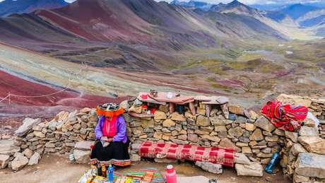 Moradores de Pampachiri, em Pitumarca, costumam trabalhar como guias ou vendedores de artesanato