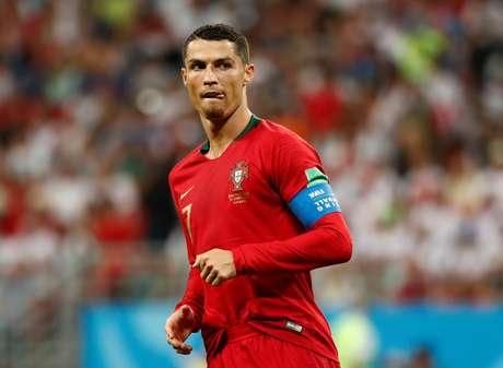 Cristiano Ronaldo em jogo da Copa