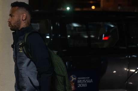 Neymar apresentou um visual novo