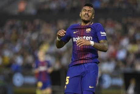 Segundo o 'Mundo Deportivo', Barcelona recebe proposta por Paulinho (Foto: MIGUEL RIOPA / AFP)