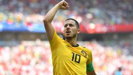 Hazard quer assumir protagonismo da Copa do Mundo (AFP)