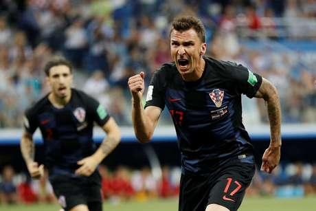 Mandzukic empatou a partida para a Croácia