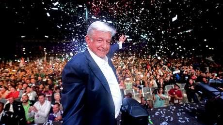 Andrés Manuel López Obrador, presidente eleito do México, já era apontado como favorito na campanha, mas venceu com margem ainda maior