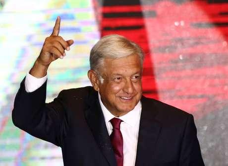 Vencedor da eleição presidencial do México, Andrés Manuel López Obrador REUTERS/Edgard Garrido
