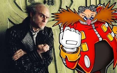 Jim Carrey como Dr. Eggman? Essa nós queremos ver. Muito!