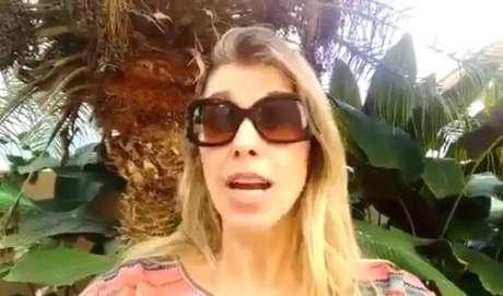 Ex-paquitaRoberta Cipriani quase perdeu a visão após acidente doméstico