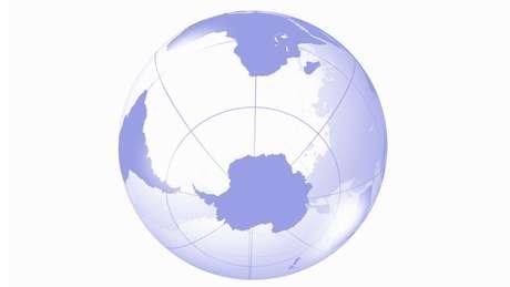 No Hemisfério Sul há maior quantidade de água do que no Hemisfério Norte, o que faz com que a temperatura não aumente tanto