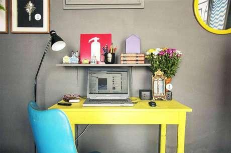 18. Brinque com as cores e deixe seu ambiente mais animado