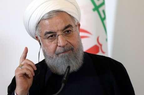 Rouhani, em Viana 4/7/2018 REUTERS/Lisi Niesner
