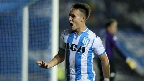 Lautaro Martínez vai defender as cores da Inter de Milão (Foto: Divulgação)