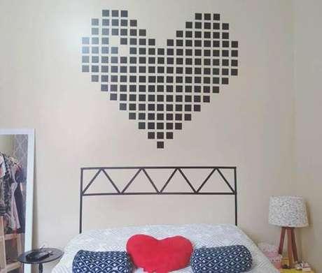 paredes decoradas cabeceira