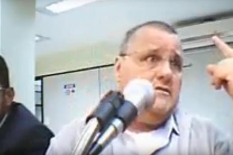 Geddel em vídeo da 10ª Vara Federal de Brasília