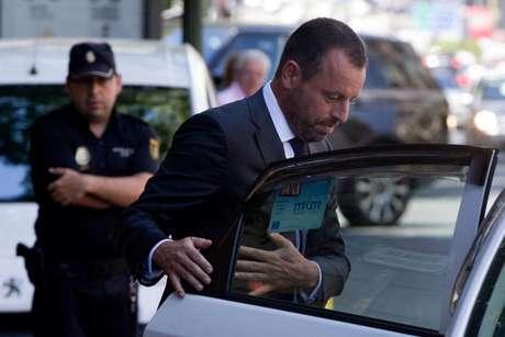 O ex-presidente do Barcelona, Sandro Rosell